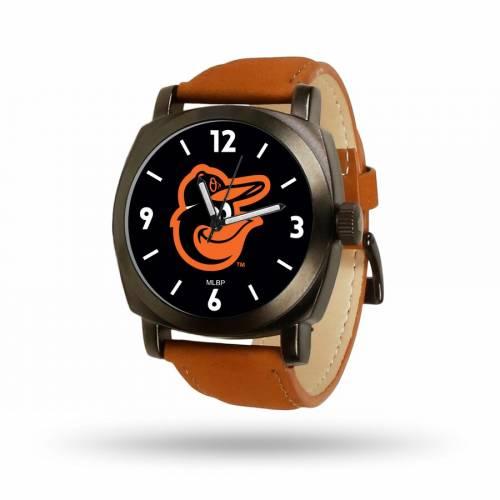 SPARO ボルティモア オリオールズ 茶 ブラウン ストラップ ウォッチ 時計 【 BROWN WATCH SPARO BALTIMORE ORIOLES STRAP COLOR 】 腕時計 メンズ腕時計