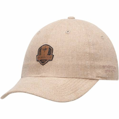 IMPERIAL スエード スウェード カーキ 【 IMPERIAL 2020 RYDER CUP LASERETCHED SUEDE PATCH UNSTRUCTURED ADJUSTABLE HAT KHAKI 】 バッグ  キャップ 帽子 メンズキャップ 帽子