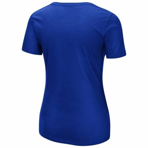 マジェスティック MAJESTIC マジェスティック ジャイアンツ レディース ゲーム Tシャツ 青 ブルー WOMEN'S 【 GAME BLUE MAJESTIC NEW YORK GIANTS SHOWTIME TRADITION TSHIRT 】 レディースファッション トップ