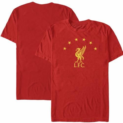 FIFTH SUN Tシャツ 赤 レッド 【 RED FIFTH SUN LIVERPOOL STAR TSHIRT 】 メンズファッション トップス Tシャツ カットソー