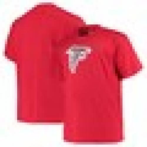 公式の店舗 プロフィール PROFILE アトランタ ファルコンズ ロゴ テック Tシャツ 赤 レッド 【大きめ】 【 RED PROFILE LOGO TECH TSHIRT 】 メンズファッション トップス Tシャツ カットソー, ユウキシ ac920bfa