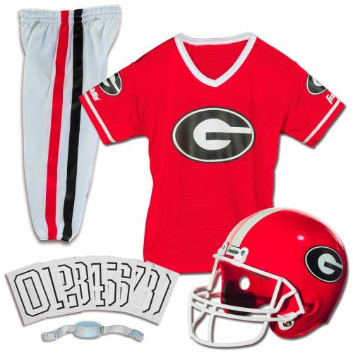 FRANKLIN SPORTS 子供用 デラックス キッズ ベビー マタニティ ジュニア 【 Georgia Bulldogs Youth Deluxe Uniform Set 】 Color