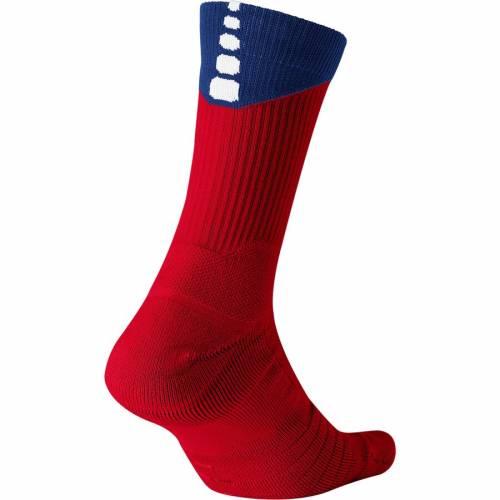 ナイキ NIKE エリート クイック ソックス 靴下 インナー 下着 ナイトウエア メンズ 下 レッグ 【 Nba Elite Quick Crew Socks - Red/blue 】 Red/blue