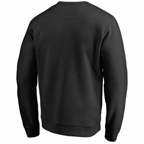 FANATICS BRANDED ミネソタ ティンバーウルブズ 黒 ブラック メンズファッション トップス スウェット トレーナー メンズ 【 Minnesota Timberwolves Arch Smoke Pullover Sweatshirt - Black 】 Black