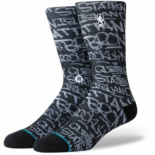スタンス STANCE ソックス 靴下 インナー 下着 ナイトウエア メンズ 下 レッグ 【 Nba Logoman Boroughs Crew Socks 】 Color