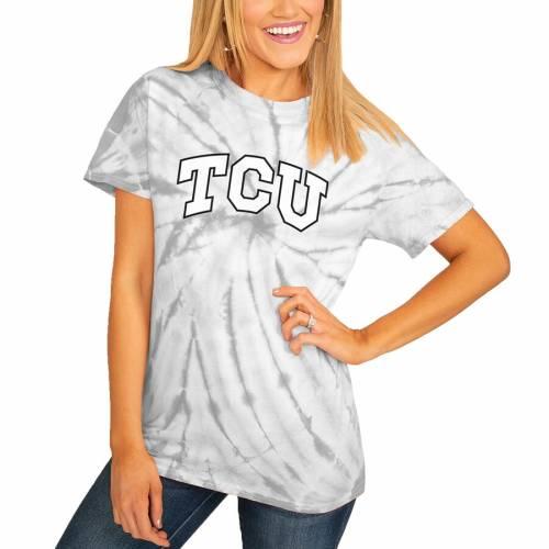 <title>スポーツブランド カジュアル ファッション ゲームデイカルチャー GAMEDAY COUTURE テキサスクリスチャン レディース Tシャツ 灰色 グレー グレイ ホーンドフロッグス WOMEN'S GRAY GROOVE ON THE MOVE SPINDYE TSHIRT レディースフ 値下げ</title>