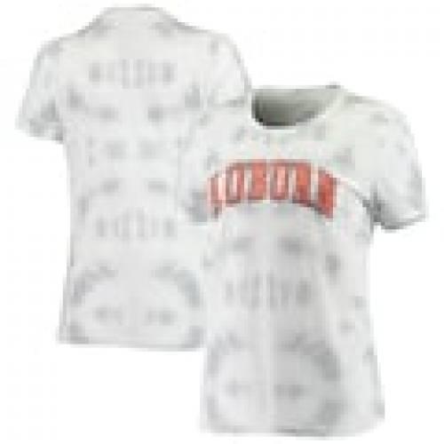 【名入れ無料】 ボクサークラフト BOXERCRAFT オーバーン タイガース レディース Tシャツ 灰色 グレー グレイ WOMEN&39;S 【 GRAY BOXERCRAFT TIEDYE SCOOP NECK TSHIRT 】 レディースファッション トップス Tシャツ カットソ, ヤマキタマチ ca1b0e33