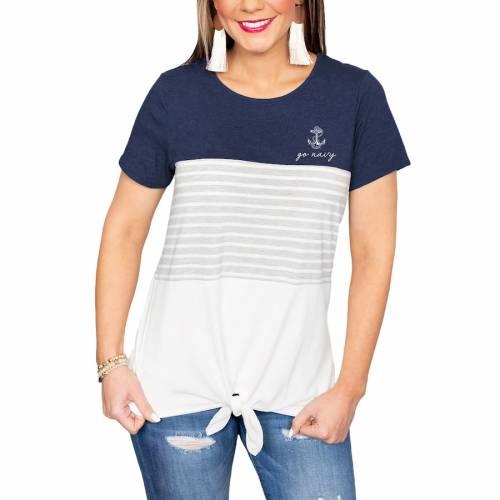 最安 ゲームデイカルチャー GAMEDAY COUTURE 紺色 ネイビー ミッドシップメン レディース Tシャツ 白色 ホワイト WOMEN&39;S 【 GAMEDAY COUTURE WHY KNOT COLORBLOCKED TSHIRT WHITE 】 レディースファッション トップ, 串間市 7c01cff9