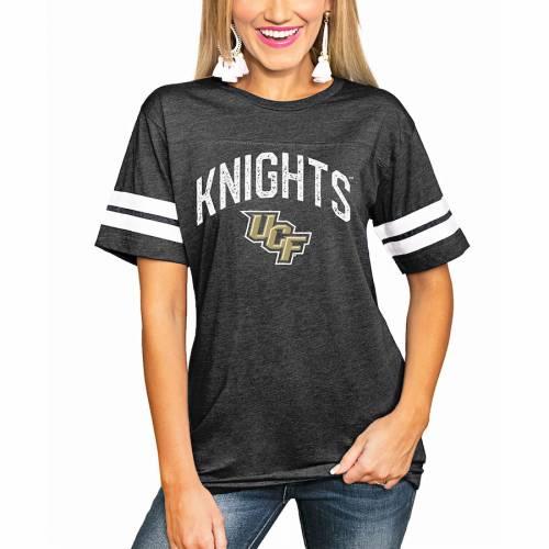 【お得】 ゲームデイカルチャー GAMEDAY COUTURE セントラルフロリダ ナイツ レディース ストライプ Tシャツ 黒色 ブラック WOMEN&39;S 【 STRIPE GAMEDAY COUTURE BIGGEST FAN TSHIRT BLACK 】 レディースファッション ト, オダグン 2fe133ea