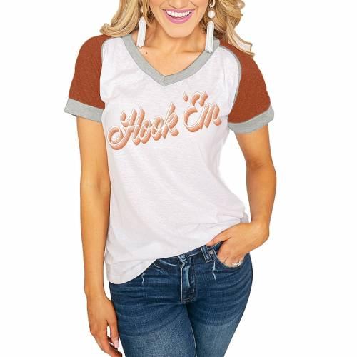注目のブランド ゲームデイカルチャー GAMEDAY COUTURE テキサス ロングホーンズ レディース Vネック Tシャツ 橙 オレンジ 白色 ホワイト WOMEN&39;S 【 ORANGE GAMEDAY COUTURE ON THE ROAD AGAIN RINGER VNECK TSHIRT WHITE TEXAS 】 レ, Healthy Life Support 64cd6f2b