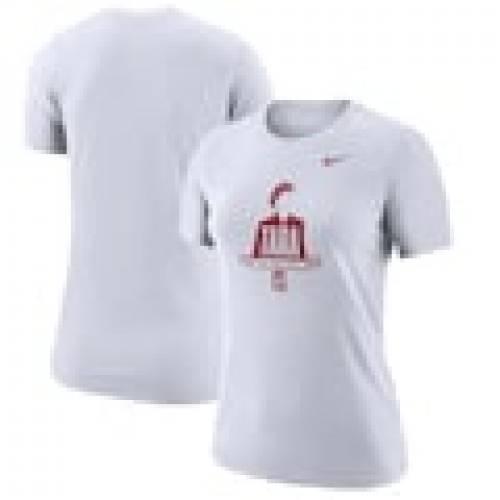 【70%OFF】 ナイキ NIKE スタンフォード カーディナル レディース パフォーマンス Tシャツ 白色 ホワイト WOMEN&39;S 【 NIKE TARA AT THE TOP PERFORMANCE TSHIRT WHITE 】 レディースファッション トップス Tシャツ カ, 里見デザイン b9e5583b