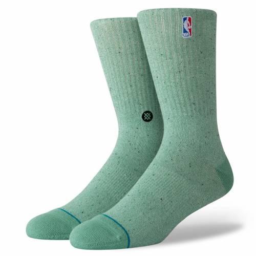 スタンス STANCE スタンス ソックス 靴下 緑 グリーン 【 STANCE GREEN NBA LOGOMAN BB CREW SOCKS 】 インナー 下着 ナイトウエア メンズ 下 レッグ