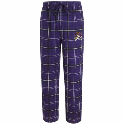 CONCEPTS SPORT 海賊団 アルティメイト 紫 パープル インナー 下着 ナイトウエア メンズ ナイト ルーム パジャマ 【 Ecu Pirates Ultimate Flannel Pajama Pants - Purple 】 Purple