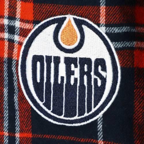 CONCEPTS SPORT インナー 下着 ナイトウエア メンズ ナイト ルーム パジャマ 【 Edmonton Oilers Hillstone Flannel Pants - Navy/orange 】 Navy/orange