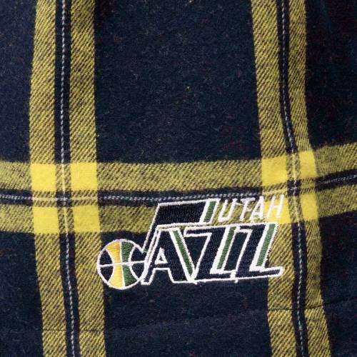 CONCEPTS SPORT ユタ ジャズ ショーツ ハーフパンツ 紺 ネイビー インナー 下着 ナイトウエア メンズ 【 Utah Jazz Homestretch Flannel Boxer Shorts - Navy 】 Navy