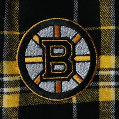 CONCEPTS SPORT ボストン インナー 下着 ナイトウエア メンズ ナイト ルーム パジャマ 【 Boston Bruins Hillstone Flannel Pants - Black/gold 】 Black/gold
