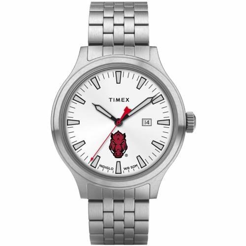 TIMEX タイメックス ウォッチ 時計 【 WATCH TIMEX ARKANSAS RAZORBACKS TOP BRASS COLOR 】 腕時計 メンズ腕時計