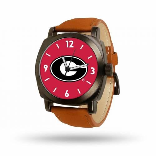 SPARO 茶 ブラウン ストラップ ウォッチ 時計 【 BROWN WATCH SPARO GEORGIA BULLDOGS STRAP COLOR 】 腕時計 メンズ腕時計