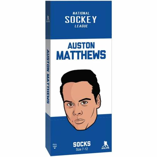 SPORTS IMAGES トロント ソックス 靴下 インナー 下着 ナイトウエア メンズ 下 レッグ 【 Auston Matthews Toronto Maple Leafs Hall Of Fame Crew Socks 】 Color