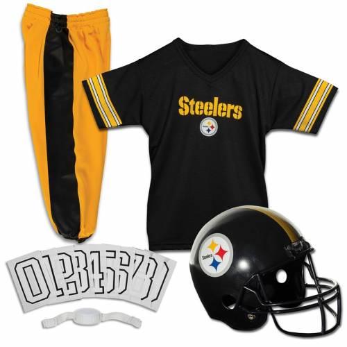 FRANKLIN SPORTS ピッツバーグ スティーラーズ 子供用 デラックス キッズ ベビー マタニティ ジュニア 【 Pittsburgh Steelers Youth Deluxe Uniform Set 】 Color