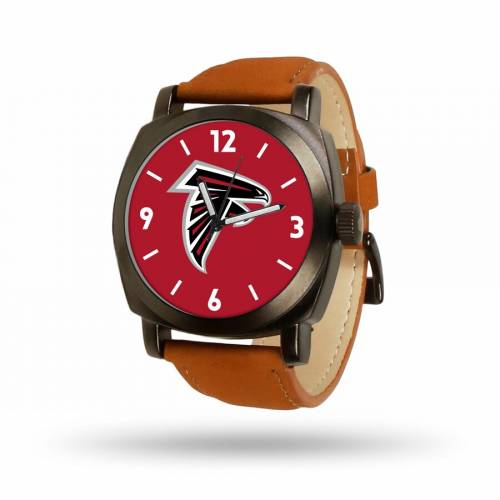 SPARO アトランタ ファルコンズ 茶 ブラウン ストラップ ウォッチ 時計 【 BROWN WATCH SPARO ATLANTA FALCONS STRAP COLOR 】 腕時計 メンズ腕時計