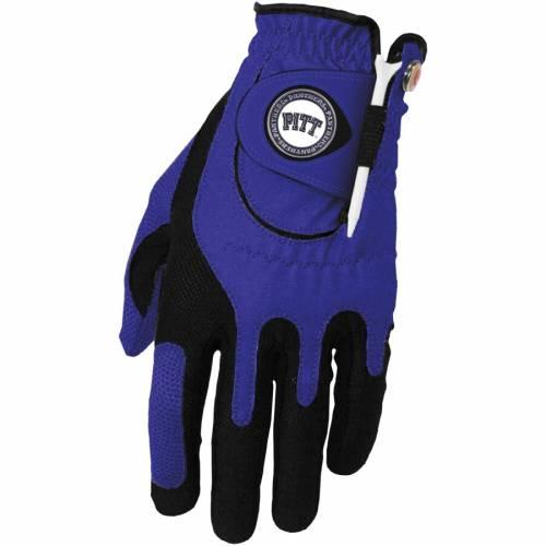 ZERO FRICTION BY TEAM GOLF パンサーズ ゴルフ グローブ グラブ 手袋 青 ブルー スポーツ アウトドア メンズ 【 Pitt Panthers Left Hand Golf Glove And Ball Marker Set - Blue 】 Blue