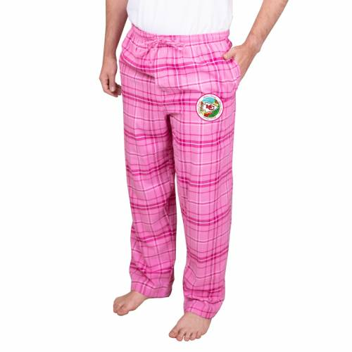 CONCEPTS SPORT カンザス シティ チーフス アルティメイト ピンク インナー 下着 ナイトウエア メンズ ナイト ルーム パジャマ 【 Kansas City Chiefs Ultimate Pants - Pink 】 Pink