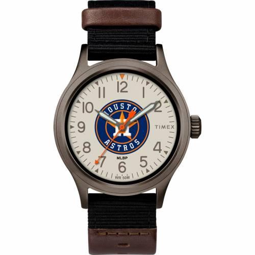 TIMEX ヒューストン アストロズ ウォッチ 時計 腕時計 メンズ腕時計 ユニセックス 【 Houston Astros Clutch Watch 】 Color