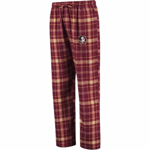 CONCEPTS SPORT フロリダ スケートボード アルティメイト インナー 下着 ナイトウエア メンズ ナイト ルーム パジャマ 【 Florida State Seminoles Big And Tall Ultimate Flannel Pants - Garnet 】 Garnet