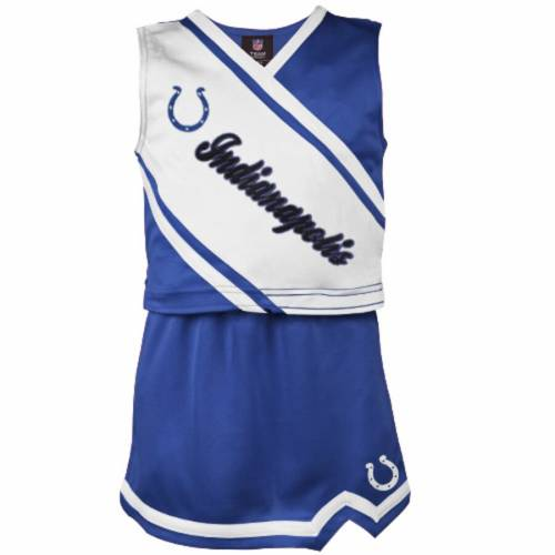 OUTERSTUFF インディアナポリス コルツ 子供用 青 ブルー キッズ ベビー マタニティ ジュニア 【 Indianapolis Colts Girls Youth 2-piece Cheerleader Set - Royal Blue 】 Royal Blue