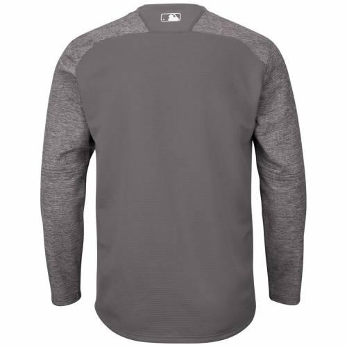 マジェスティック MAJESTIC パドレス オーセンティック テック フリース メンズファッション トップス スウェット トレーナー メンズ 【 San Diego Padres Alternate Authentic Tech Fleece Pullover Sweatshi