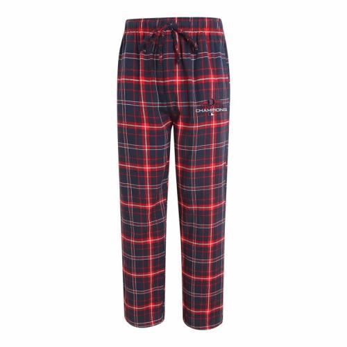 CONCEPTS SPORT ボストン 赤 レッド シリーズ アルティメイト 紺 ネイビー インナー 下着 ナイトウエア メンズ ナイト ルーム パジャマ 【 Boston Red Sox 2018 World Series Champions Ultimate Flannel Pants -