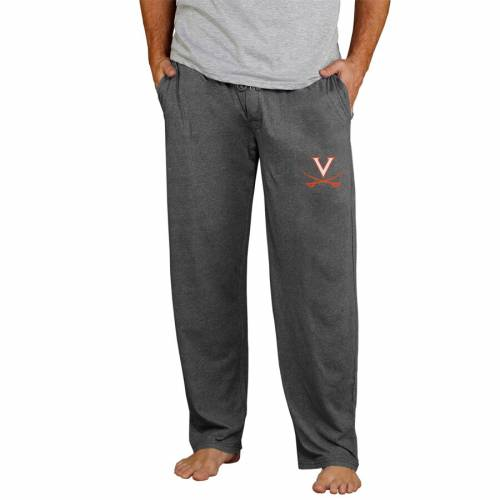 CONCEPTS SPORT バージニア キャバリアーズ ニット チャコール インナー 下着 ナイトウエア メンズ ナイト ルーム パジャマ 【 Virginia Cavaliers Quest Knit Pants - Charcoal 】 Charcoal
