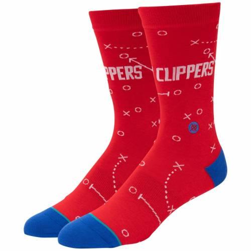 スタンス STANCE クリッパーズ ソックス 靴下 インナー 下着 ナイトウエア メンズ 下 レッグ 【 La Clippers Playbook Crew Socks 】 Color