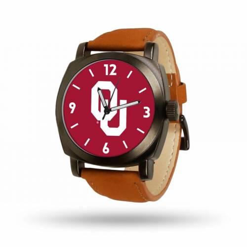 SPARO 茶 ブラウン ストラップ ウォッチ 時計 【 BROWN WATCH SPARO OKLAHOMA SOONERS STRAP COLOR 】 腕時計 メンズ腕時計