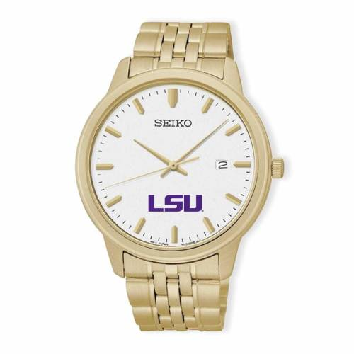SEIKO タイガース ウォッチ 時計 金色 ゴールド 【 WATCH SEIKO LSU TIGERS QUARTZ GOLD 】 腕時計 メンズ腕時計