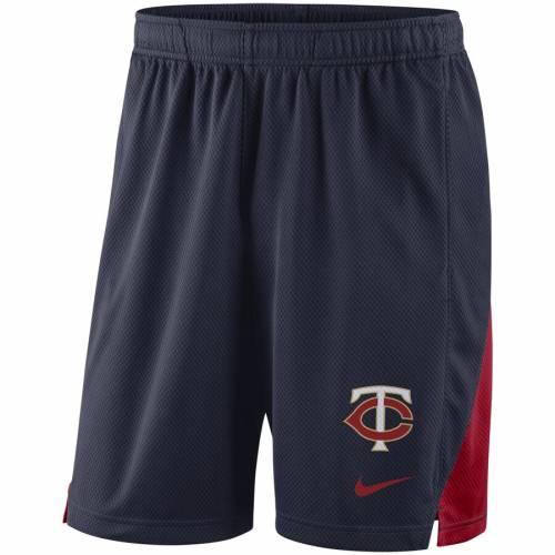 ナイキ NIKE ミネソタ ツインズ フランチャイズ パフォーマンス ショーツ ハーフパンツ 紺 ネイビー メンズファッション ズボン パンツ メンズ 【 Minnesota Twins Franchise Performance Shorts - Navy