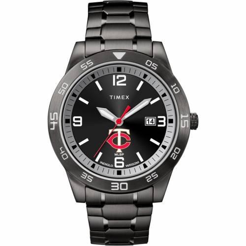 TIMEX ミネソタ ツインズ ウォッチ 時計 腕時計 メンズ腕時計 ユニセックス 【 Minnesota Twins Acclaim Watch 】 Color