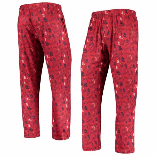 FOREVER COLLECTIBLES カーディナルス ST. 【 LOUIS CARDINALS RETRO REPEAT PANTS RED 】 インナー 下着 ナイトウエア メンズ ナイト ルーム パジャマ 送料無料