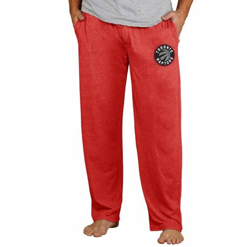 CONCEPTS SPORT トロント ラプターズ ニット 赤 レッド 【 RED CONCEPTS SPORT TORONTO RAPTORS QUEST KNIT LOUNGE PANTS 】 インナー 下着 ナイトウエア メンズ ナイト ルーム パジャマ