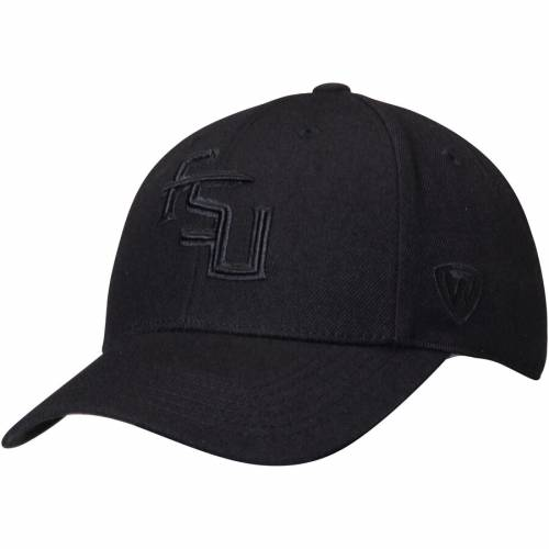 TOP OF THE WORLD フロリダ スケートボード 黒 ブラック バッグ キャップ 帽子 メンズキャップ メンズ 【 Florida State Seminoles Ncaa Dynasty Memory Fit Fitted Hat - Black 】 Black