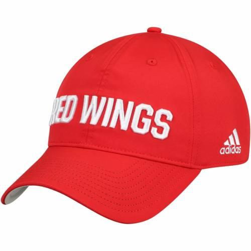 アディダス ADIDAS デトロイト 赤 レッド シティ バッグ キャップ 帽子 メンズキャップ メンズ 【 Detroit Red Wings Sport City First Adjustable Hat - Red 】 Red
