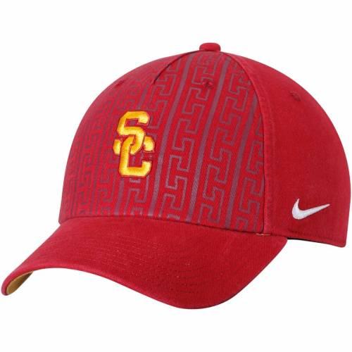 ナイキ NIKE ベナッシ サンダル 赤 カーディナル バッグ キャップ 帽子 メンズキャップ メンズ 【 Usc Trojans Benassi Slide Adjustable Hat - Cardinal 】 Cardinal