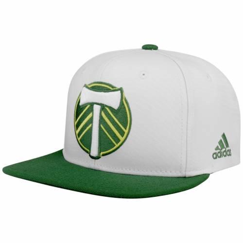 アディダス ADIDAS ポートランド スナップバック バッグ キャップ 帽子 メンズキャップ メンズ 【 Portland Timbers Sublimated Snapback Adjustable Hat - White/green 】 White/green