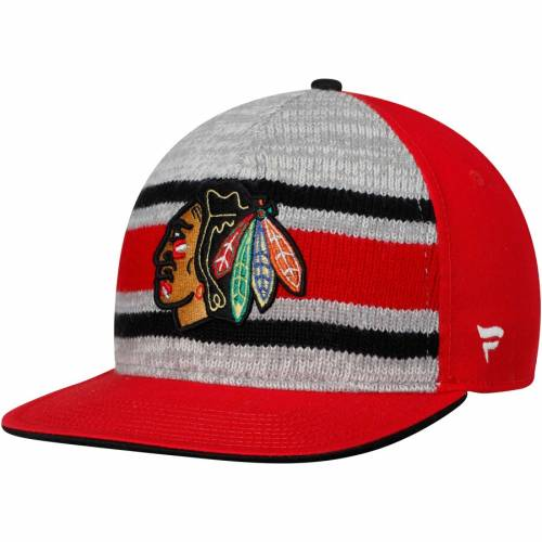 FANATICS BRANDED シカゴ クラシック 赤 レッド バッグ キャップ 帽子 メンズキャップ メンズ 【 Chicago Blackhawks True Classic Dispatch Adjustable Hat - Red 】 Red