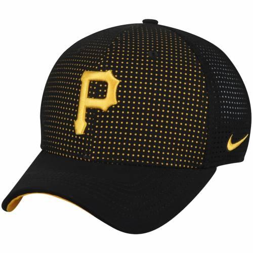 ナイキ NIKE ピッツバーグ 海賊団 クラシック パフォーマンス 黒 ブラック バッグ キャップ 帽子 メンズキャップ メンズ 【 Pittsburgh Pirates Aerobill Classic 99 Performance Adjustable Hat - Black 】 Black