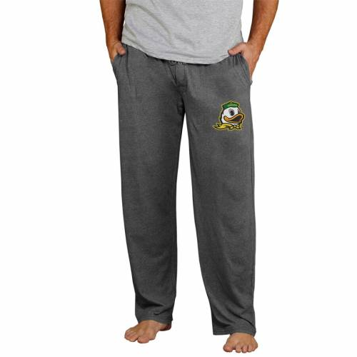 CONCEPTS SPORT オレゴン ニット チャコール インナー 下着 ナイトウエア メンズ ナイト ルーム パジャマ 【 Oregon Ducks Quest Knit Pants - Charcoal 】 Charcoal