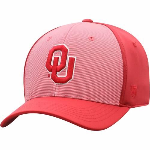 TOP OF THE WORLD バッグ キャップ 帽子 メンズキャップ メンズ 【 Oklahoma Sooners Break Flex Hat - Crimson 】 Crimson
