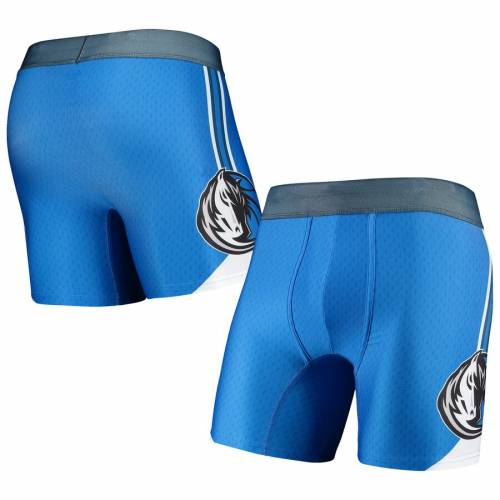 CONCEPTS SPORT ダラス マーベリックス 青 ブルー インナー 下着 ナイトウエア メンズ 【 Dallas Mavericks Flyaway Swingman Boxer Briefs - Blue 】 Blue