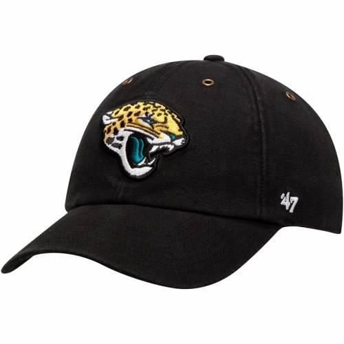 '47 ジャクソンビル ジャガース チーム 黒 ブラック バッグ キャップ 帽子 メンズキャップ メンズ 【 Jacksonville Jaguars Carhartt X Team Clean-up Adjustable Hat - Black 】 Black